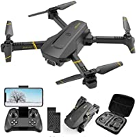 4K Drone Ultralight and Foldable Drone Quadcopter with 1080P HD Camera FPV WiFi RC for Adults and Kids Headless Mode…