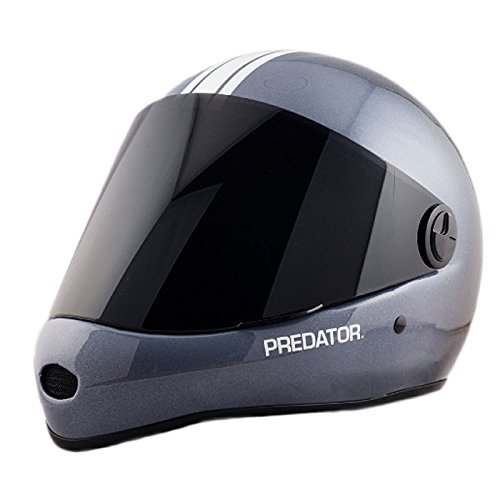 Predator DH-6 Skate Helmet - Team Carbon by Predator