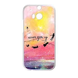 Never Grow Up Cell Phone Case for HTC One M8