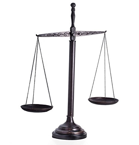 Scales of Justice - Scales of Justice Sculpture - 21.5