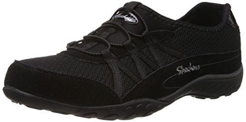 Skechers Womens Relaxation Fashion SneakerBlack 8.5 B - Medium