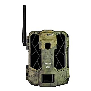 "SPYPOINT LINK-DARK-V Cellular Trail Camera, Wireless via LINK App or Cell Provider, INVISIBLE LEDs, Blur Reduction&IR Boost Tech, 2"" Screen, 0.07s Trigger, 100' Detection&80' Flash"