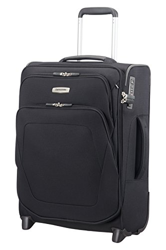 (SAMSONITE Spark SNG - Upright 55/20 Expendable Length 40cm Hand Luggage, 55 cm, 48,5 liters, Black)