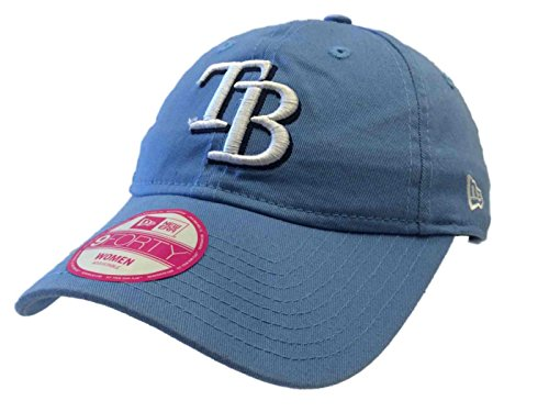 Tampa Bay Rays New Era 9Forty Womens Relax Light Blue Adjustable Hat Cap