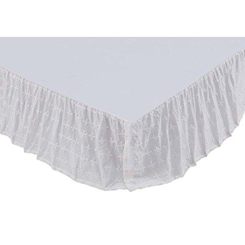 Farmhouse Bedding - Eleanor Purple (Eleanor Cotton Skirt)