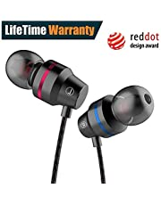 Earbuds, Wired Headphones with Microphone in Ear Earphones with Stereo Mic and Volume Control Compatible Smart Phones with 3.5mm Jack