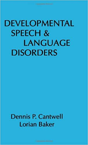 Developmental speech and language disorders 9780898624007 medicine developmental speech and language disorders 1st edition fandeluxe Image collections