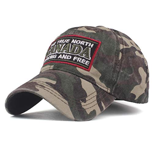 Duseedik Unisex Trucker Cap Military Camouflage Special Tactical Operator Forces USA Flag Patch Baseball Cap (Green B) ()