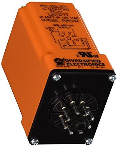 ATC ARA-480-ACA Plug-In Duplexor Alternating Relay, 480 VAC, DPDT x Wired by Atc