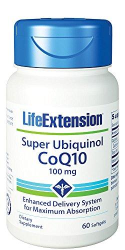 Life Extension Super Ubiquinol CoQ10 100 mg, 60 ()