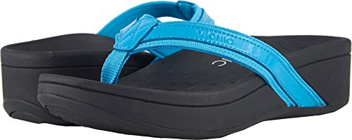 Vionic Pacific High Tide - Womens Platform Sandal Turquoise - 10 Wide by Vionic