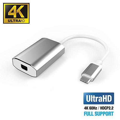 UPTab USB-C Type C to Mini DisplayPort Adapter 4K@60Hz