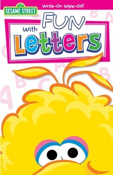 Sesame Street - Fun with Letters Write On Wipe Off Book Party Accessory -