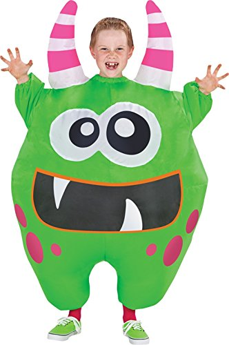 Morris Costumes Hours Of Operation (Morris Costumes SS55194G Inflate Scareblown Green Child)