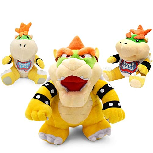 LAJKS 18-24Cm Rio Plush Toys Bowser Jr Koopa Bowser Dragon Plush Doll Brothers Soft Plush Must Haves for Kids Friendship Gifts The Favourite Anime 5T Superhero Girls 3 Movie Collection by LAJKS