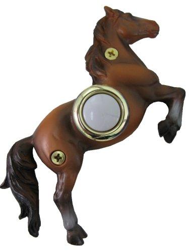 Waterwood Handpainted Horse Doorbell