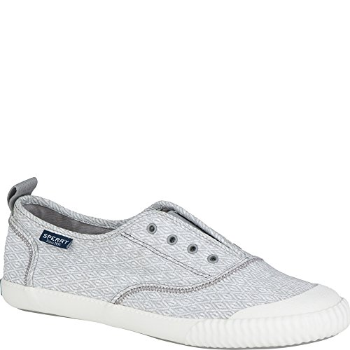 Paul Sperry Sayel hat Diamond Sneaker abgerundet Grau
