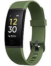 realme Band 1 – Intelligent hälsa och sportspårare, stor färgdisplay, smarta meddelanden, 10 dagars arbetstid, vattentålig