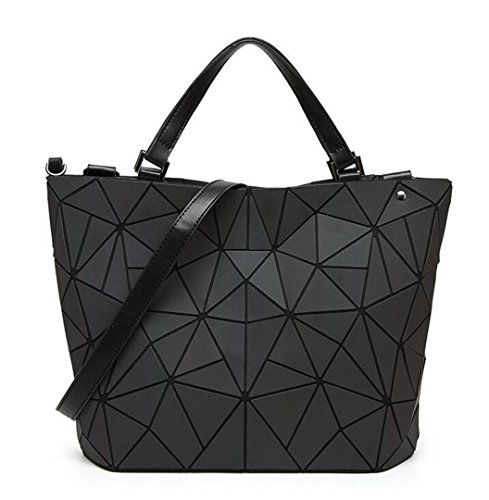 Bags Women Casual Bag Tote Large Geometry Folding Mirror Plain Big Capacity qIw1q