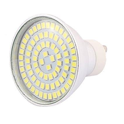 eDealMax GU10 SMD 2835 80 LEDs de aluminio Energía del bulbo de lámpara de ahorro de