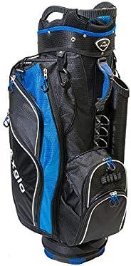 Axglo Golf Cart Bag A181 Lightweight 14 Full Length Dividers Shoulder Straps