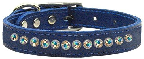 mirage-pet-products-one-row-aurora-borealis-jeweled-leather-blue-dog-collar-14