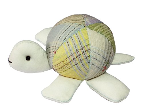 Turtle Pin Cushion Sewing Project Kits for Beginners Quilting Kits with Fabric (Green)