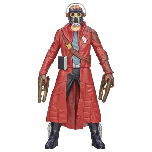 Marvel Guardians of the Galaxy 10 inches figure Battle FX Star load / MARVEL COMICS GUARDIANS OF THE GALAXY STAR-LORD GotG