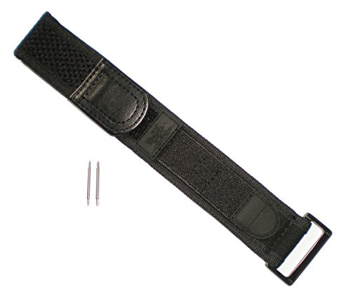 G Luminox BLACK OUT EVO Wide Watch Band Nylon Velcro Navy Seals 22/23 mm Series 3000/3900/3050/3080
