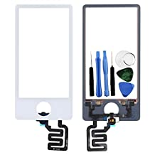 BisLinks® White LCD Touch Screen Digitizer Assembly Replacement For iPod Nano 7 7th Gen