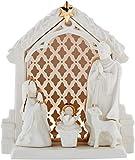 Lenox Illuminations Lit Nativity Scene