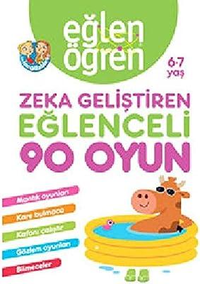 Eglen Ogren Zeka Gelistiren Eglenceli 90 Oyun 6 7 Yas Amazon Co
