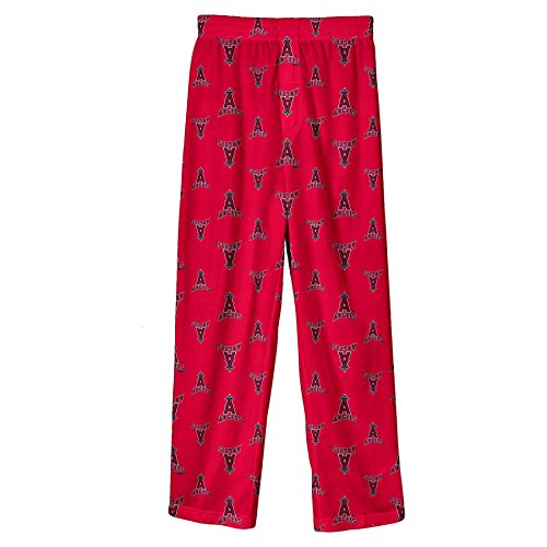 MLB Infant/Toddler Boys' Anaheim Angels Printed Pant, Red, Small (Kids Clothing Toddler Angel)