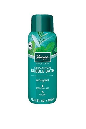 Herbal Scented Bath Salt - Kneipp Eucalyptus Bubble Bath, 13.52 fl oz, with Aromatherapy