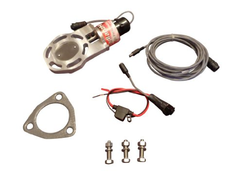 (BadlanzHPE Electric Exhaust Cutout 3 INCH S 5 YEAR WARRANTY!)