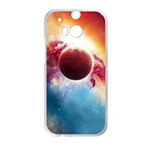 HTC One M8 Cell Phone Case White nebula Phone cover U8483785