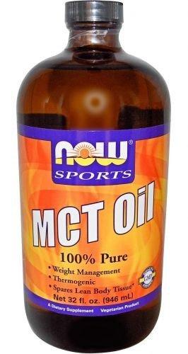 Now Foods 100% d'huile de MCT, 32 once