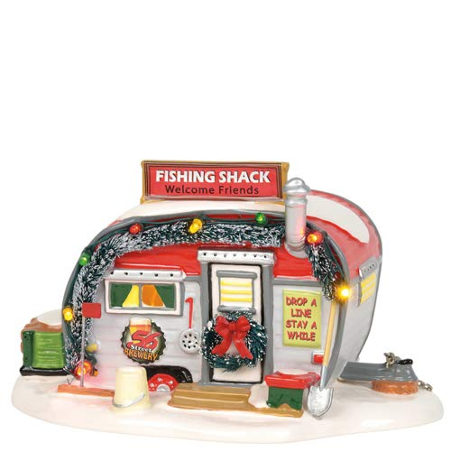 Department 56 Original Snow Village Stumble Inn Fish Shack