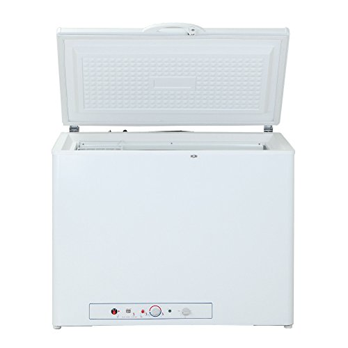 SMAD 110 Volts/Propane Chest Freezer RV for Camping,200L, White