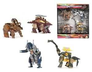 Cosas Internacionales - 4 Transformers dinosaurios (18363)