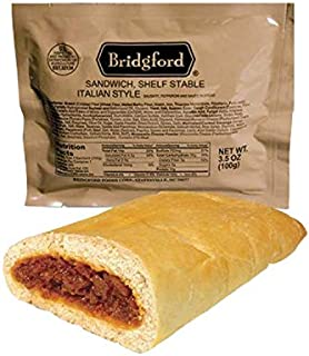 product image for Bridgford Italian Sausage MRE Survival Food Storage Ready To Eat Meals - 3 Pack