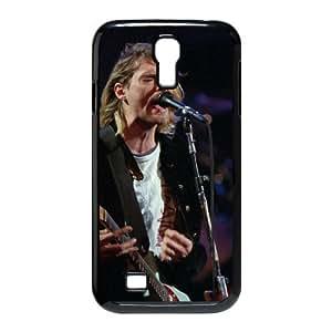 HOPPYS Customized Kurt Cobain Pattern Protective Case Cover for Samsung Galaxy S4 I9500