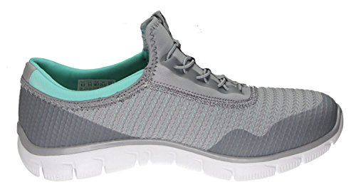 Mint Relaxed Fashion Around Sneaker Empire Gray Rock Skechers Womens Fit Sport AwXqvXnf