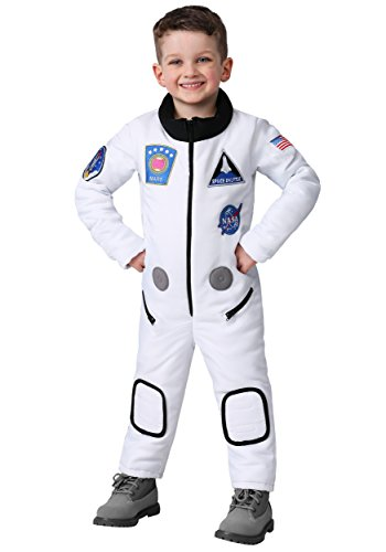 Toddler Deluxe Astronaut Costume 2T White]()