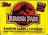 Jurassic Park Series 2 Factory Sealed Trading Card Pack
