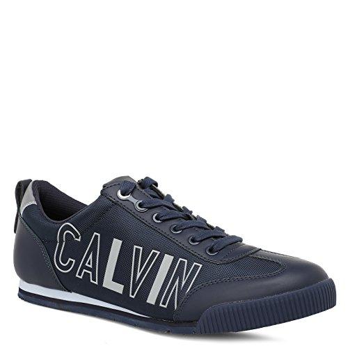 Sneaker Uomo Klein Nylon Smooth Blu Welby Calvin q1wHgw