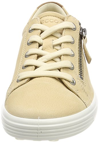 Ecco Soft 7, Sneakers Basses Femme Beige (Powder)