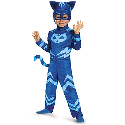 Catboy Classic Toddler PJ Masks Costume, (Boys Costumes)