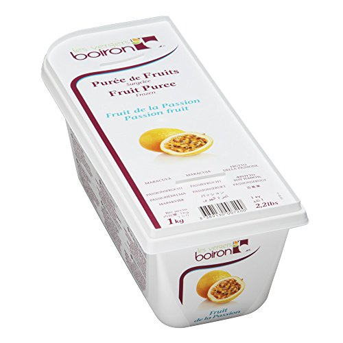 - Passion Fruit Puree - Frozen - 100% Fruit - 2.2Lbs - Kosher