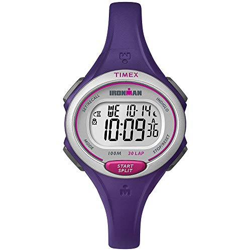Timex Ironman Essential 30 Mid-Size Stopwatch Purple One Size